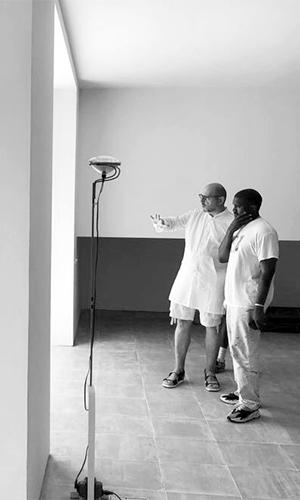 Claudio Silvestrin e Kanye West