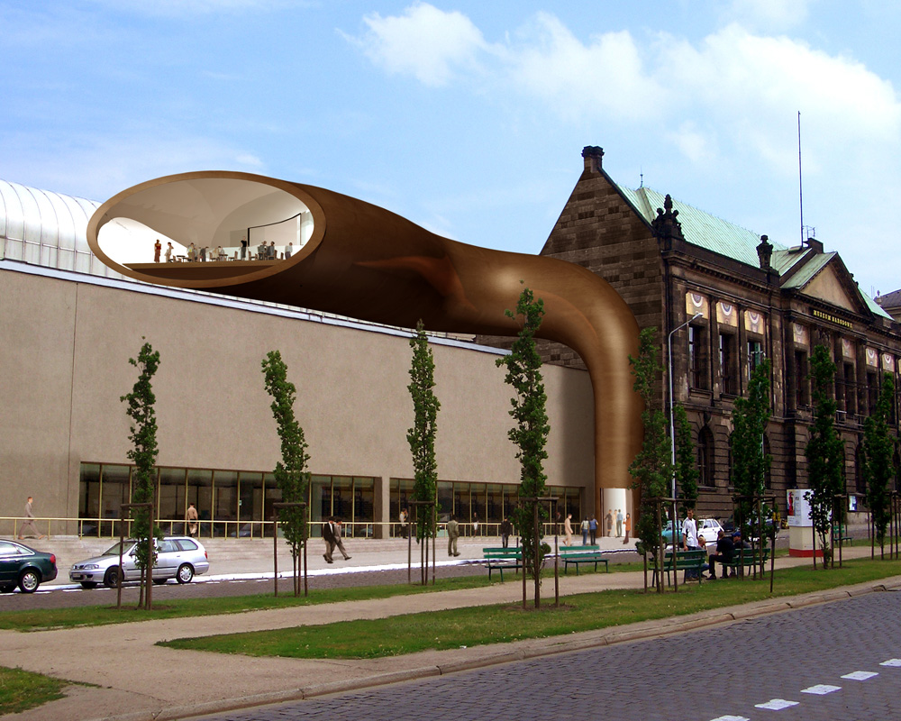 Modern Art Museum Extension